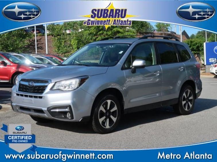 Certified Used 2018 Subaru Forester Premium W/Eyesight/Blindspot/Rcta SUV in Atlanta, GA