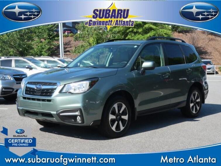 Used 2017 Subaru Forester Limited W/Leather/Blindspot/Power Lift Gate SUV in Atlanta, GA