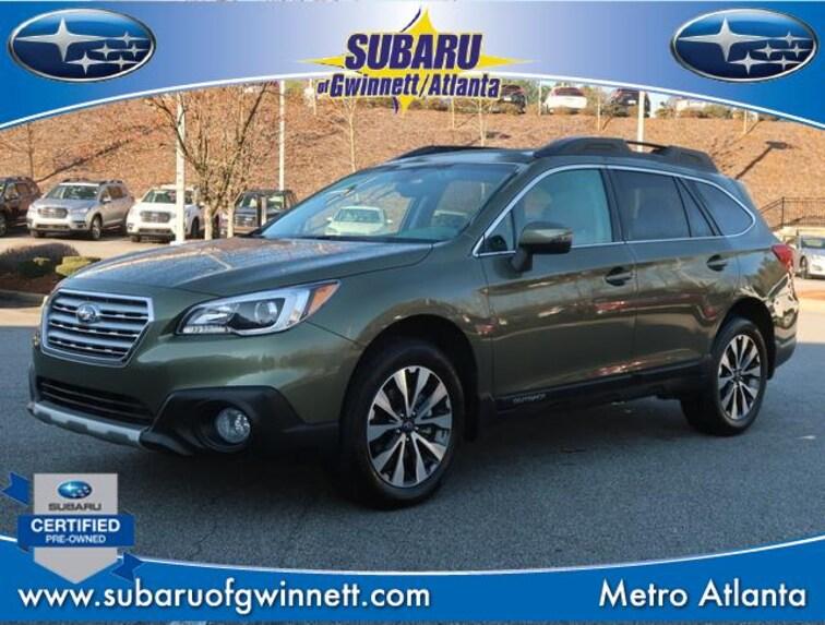 Used 2017 Subaru Outback Limited W/Navigation/Eyesight/RAB SUV in Atlanta, GA