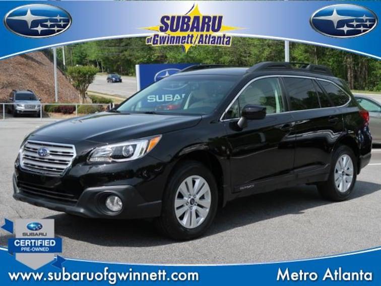 Certified Used 2016 Subaru Outback 2.5i Premium Pzev SUV in Atlanta, GA