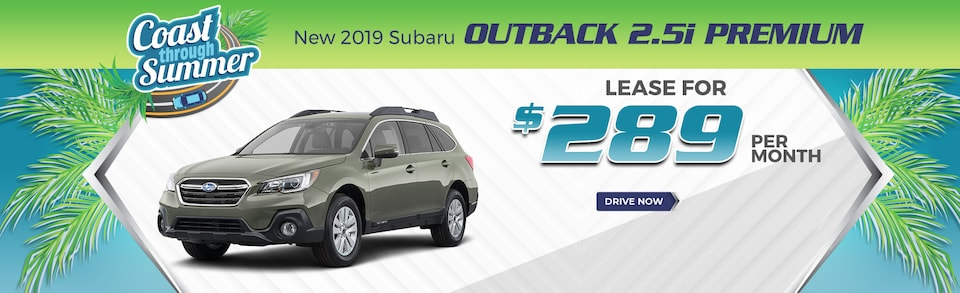 2019 Outback - Lease