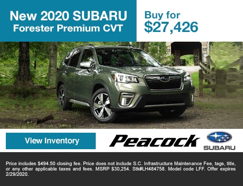2020 new SubaruForesterPREMIUM CVT