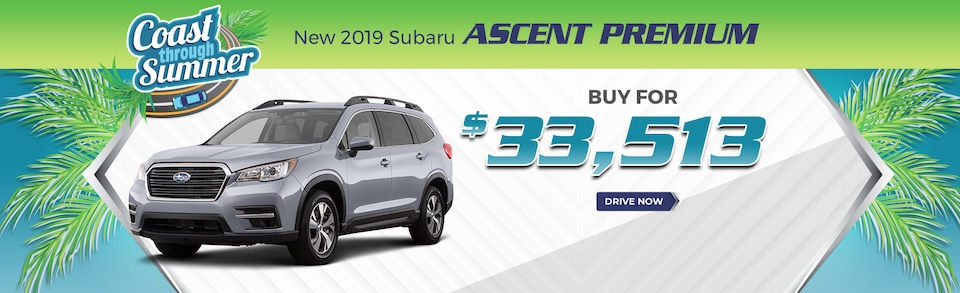 2019 Ascent - Buy for