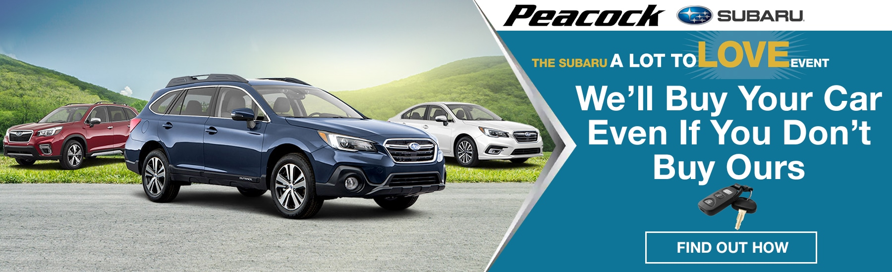 New Subaru Dealer Hilton Head Island SC | Peacock Subaru