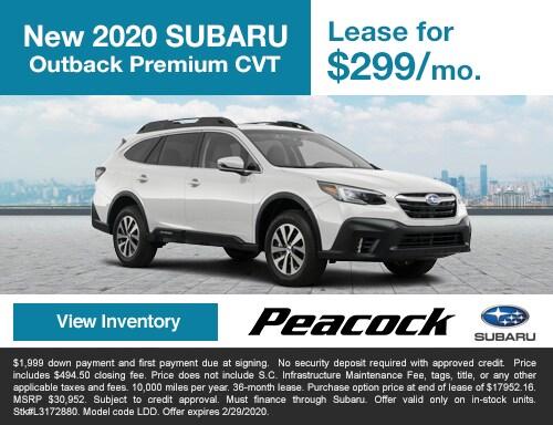 2020 new SubaruOutbackPremium CVT