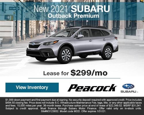 2021 new SubaruOutbackPremium