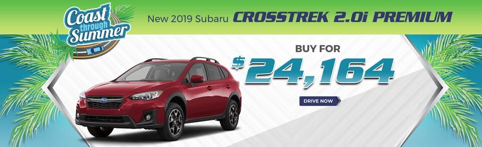 2019 Crosstrek - Buy for