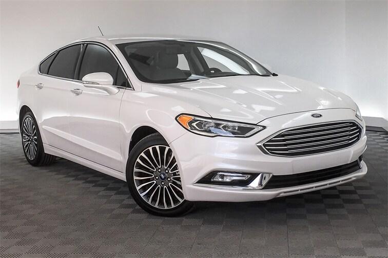 Used 2017 Ford Fusion SE Sedan Hardeeville