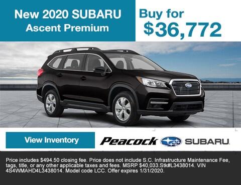 2020 new Subaru Ascent Premium