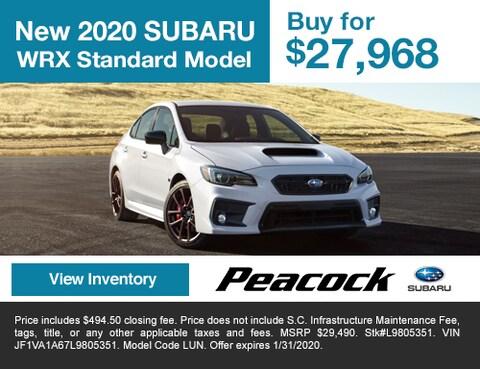 2020 new SubaruWRX Standard Model
