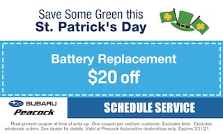 Save Some Green this St. Patrick's Day!