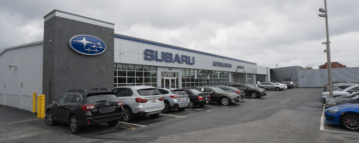 Outside view of AutoNation Subaru Hunt Valley