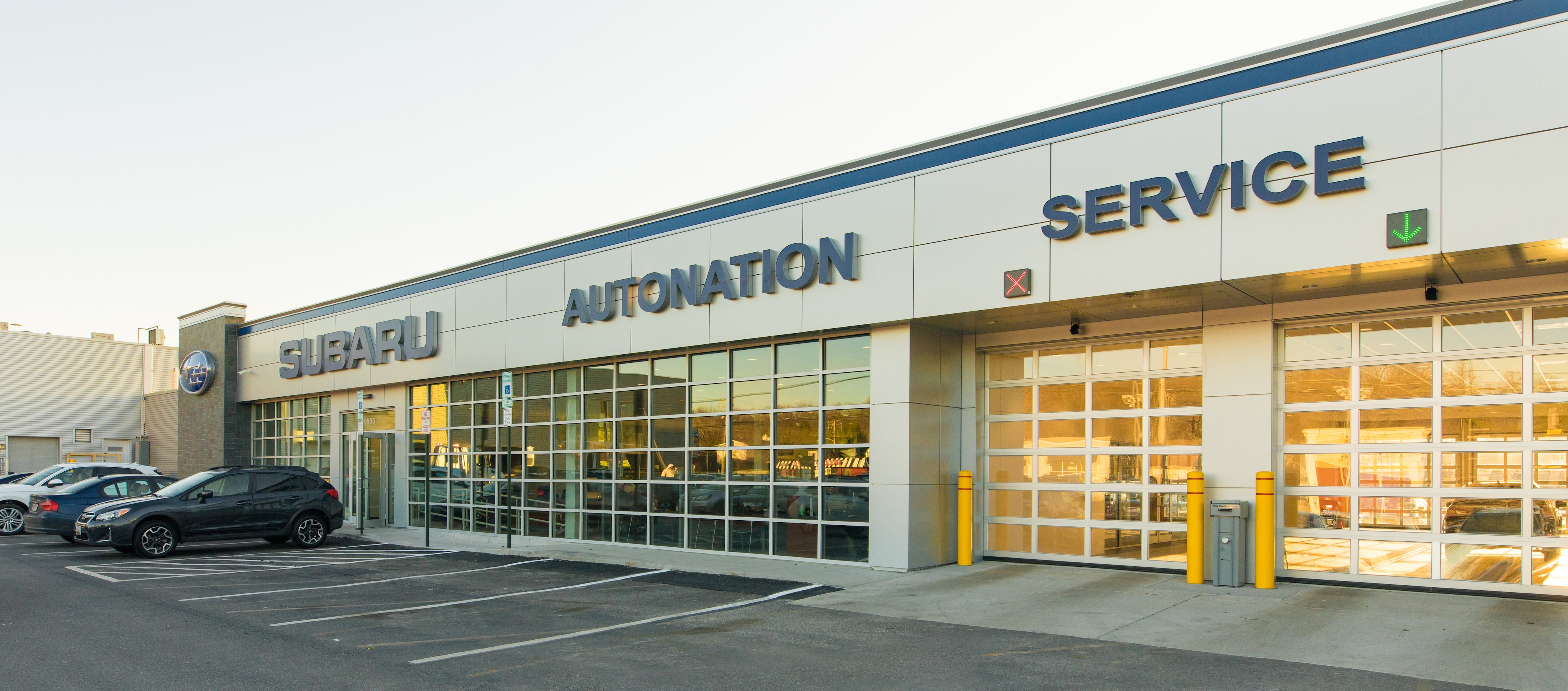 AutoNation Subaru Hunt Valley Service Center Exterior