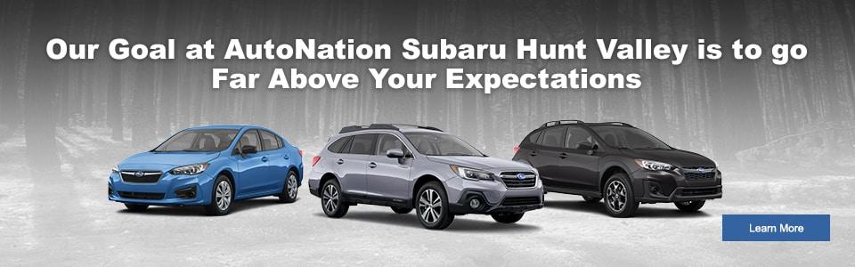 Subaru Dealership Near Me In Cockeysville MD AutoNation Subaru - Subaru valley motors