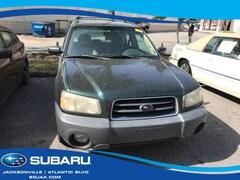 Used 2004 Subaru Forester 4dr 2.5 X Auto Sport Utility Jacksonville, FL
