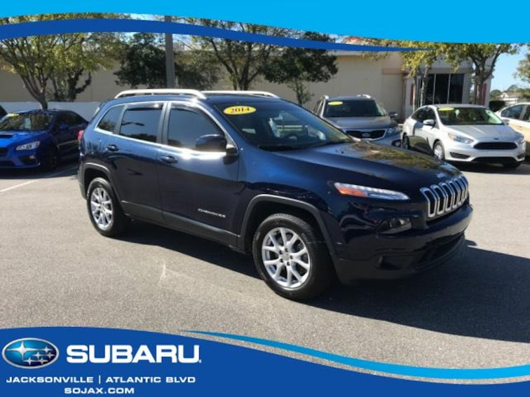 Used 2014 Jeep Cherokee FWD 4dr Latitude Sport Utility in Jacksonville, FL