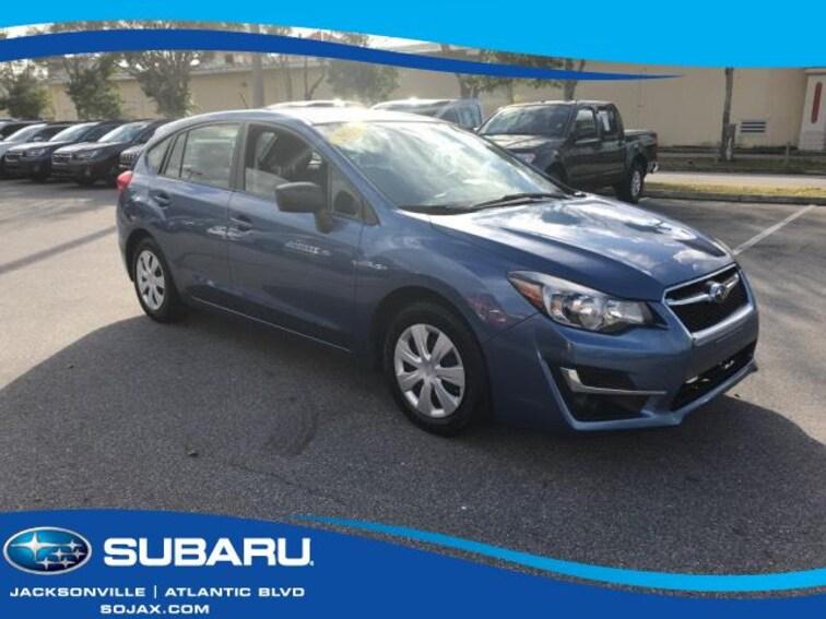 Certified Pre-Owned 2016 Subaru Impreza 5dr CVT 2.0i Car in Jacksonville, FL