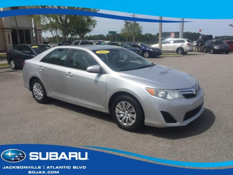 2012 Toyota Camry For Sale >> Used 2012 Toyota Camry For Sale In Jacksonville Fl Near