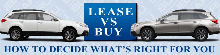 Lease Vs Buy New Subaru In Jacksonville Florida