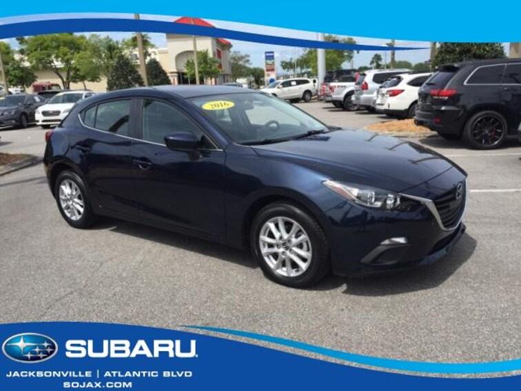 Used 2016 Mazda Mazda3 5dr HB Auto i Sport Car in Jacksonville, FL