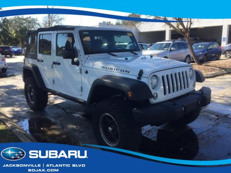 used 2017 jeep wrangler unlimited for sale in jacksonville, fl