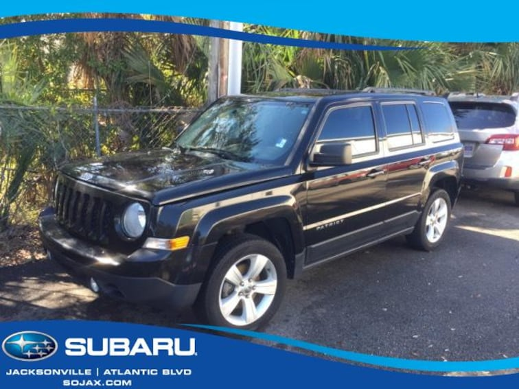 Used 2013 Jeep Patriot FWD 4dr Latitude Sport Utility in Jacksonville, FL
