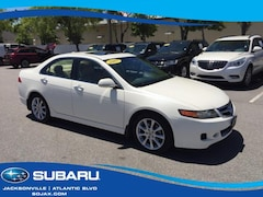 Used 2007 Acura TSX 4dr Sdn AT Car Jacksonville, FL