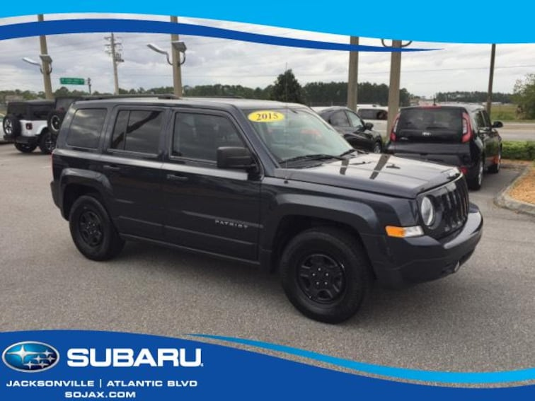 Used 2015 Jeep Patriot FWD 4dr Sport Sport Utility in Jacksonville, FL