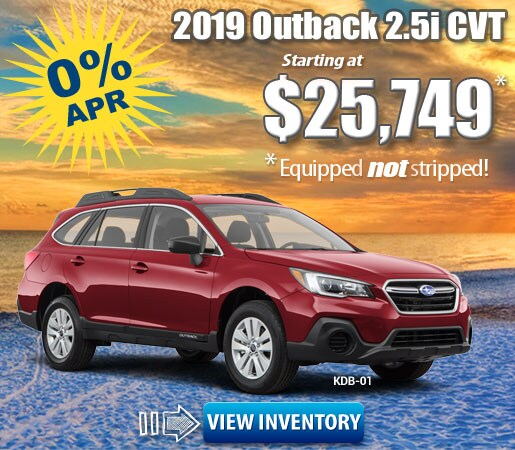 New 2019 Subaru Specials in Jacksonville, FL