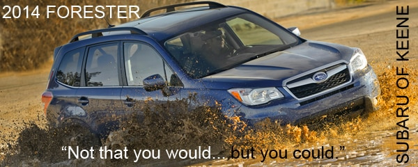 2014 Forester Models, Specs and Features | Subaru of Keene, NH
