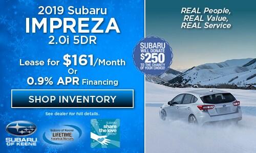 2019 Subaru Impreza 5DR