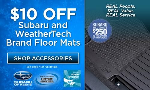 $10 Off Floor Mats