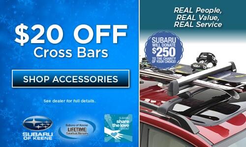 $20 Off Cross Bars