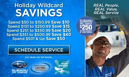 Holiday Wildcard Savings
