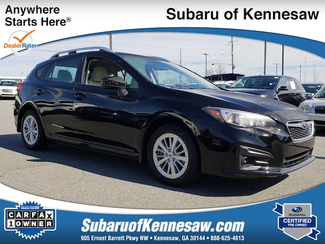 Used 2018 Subaru Impreza Premium 5-door in Cumming, GA