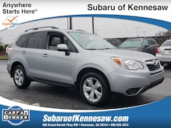 Certified Used 2015 Subaru Forester 2.5I Premium SUV JF2SJADC2FH583067 in Kennesaw, GA
