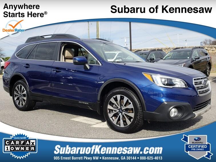 Certified Used 2016 Subaru Outback 3.6R Limited SUV near Atlanta