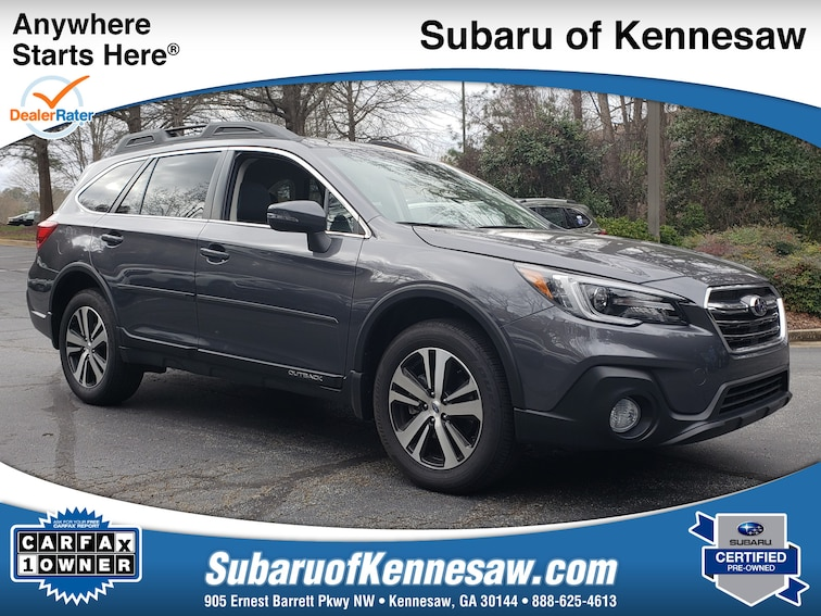 Certified Used 2018 Subaru Outback Limited SUV near Atlanta
