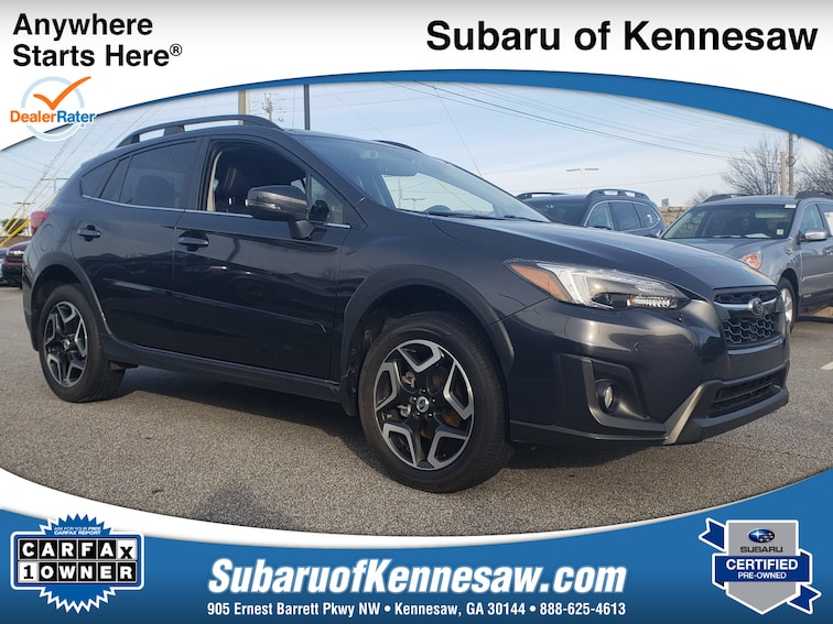 Certified Used 2018 Subaru Crosstrek Limited SUV near Atlanta