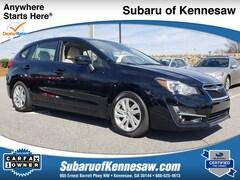 Used 2015 Subaru Impreza 2.0I Premium Sedan in Kennesaw