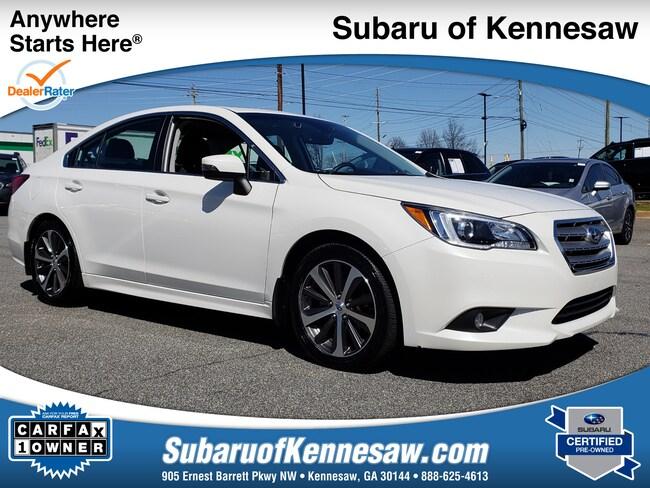 Used 2017 Subaru Legacy Limited Sedan in Cumming, GA