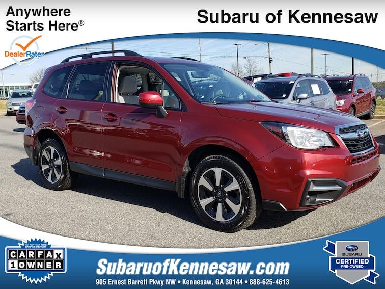 Certified Used 2017 Subaru Forester Premium SUV near Atlanta