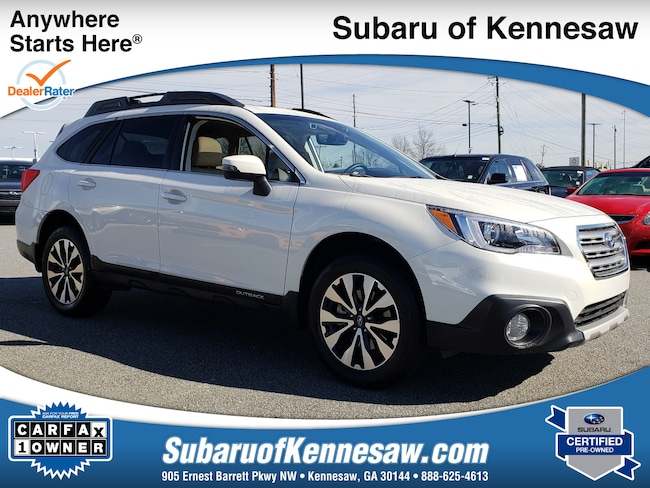 Used 2017 Subaru Outback Limited SUV in Cumming, GA
