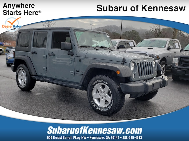 Used 2015 Jeep Wrangler Unlimited Sport SUV in Cumming, GA