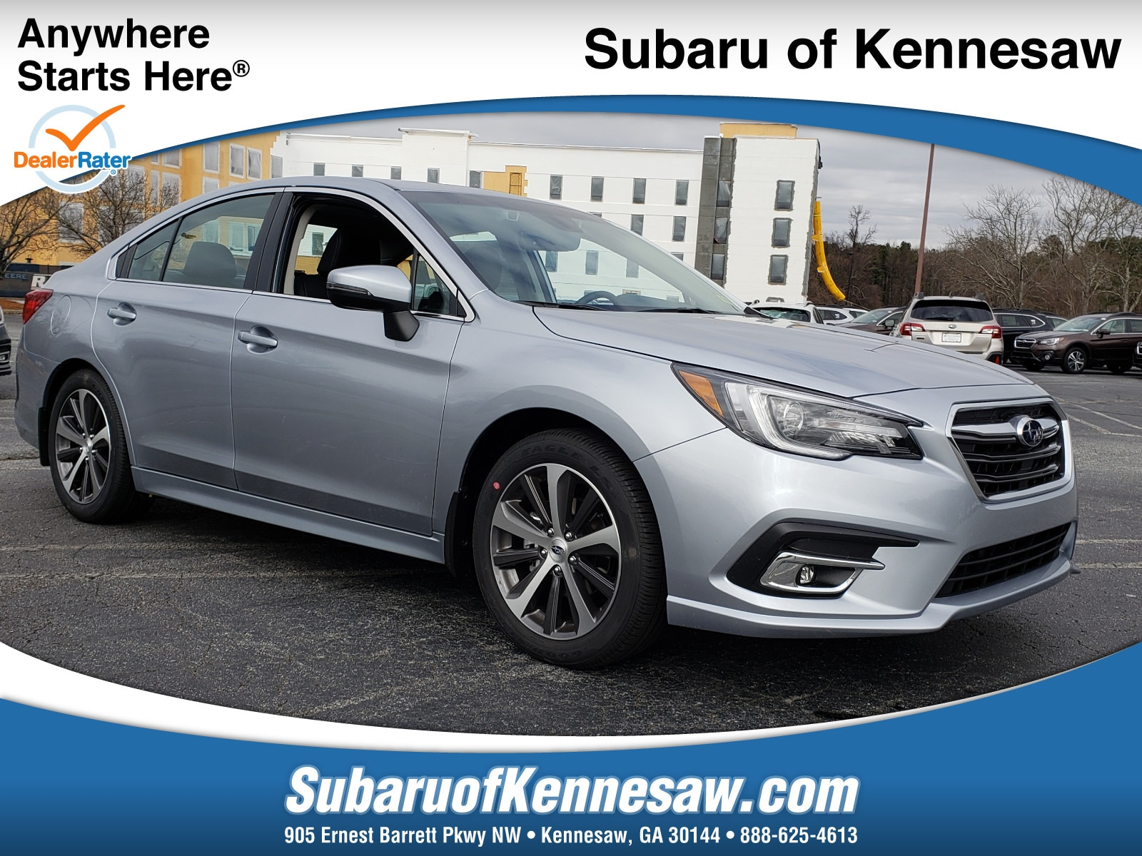 New 2019 Subaru Legacy 2.5i Limited Sedan in Kennesaw GA