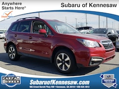 Certified Used 2018 Subaru Forester Limited SUV JF2SJAJC2JH499795 in Kennesaw, GA