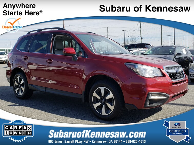 Certified Used 2018 Subaru Forester Limited SUV near Atlanta