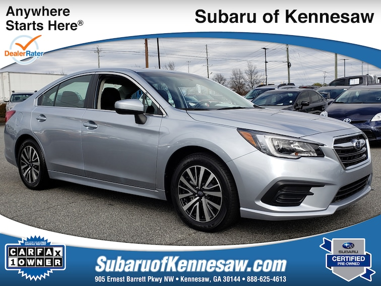 Certified Used 2018 Subaru Legacy Premium Sedan near Atlanta