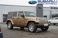 Used 2015 Jeep Wrangler Unlimited Sahara SUV FL700498 in Cincinnati, OH
