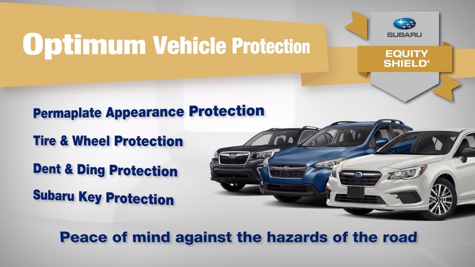 Subaru Equity Shield Vehicle Protection Tire Wheel Dent
